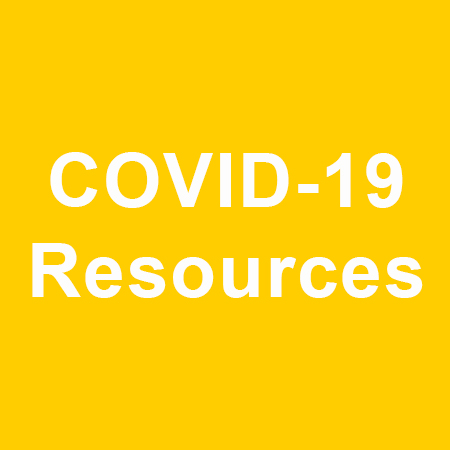 A button that says COVID Resources